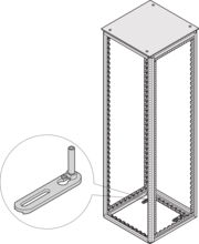 Tip-over protection for floor mounting (Varistar)