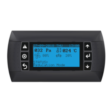 Display for control unit