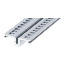 Horizontal rail, center, for rear I/O, type AB (RatiopacPRO/-air, EuropacPRO/-rugged)