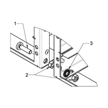 Mounting kit for on-board rack