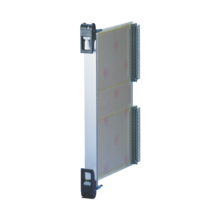 Plug in unit, 6 U, front anodized, rear etched, shielded (textile), front assembly, IET handle