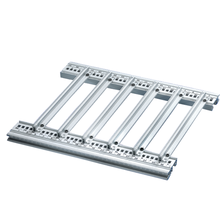Guide rails, one-piece, for heavy assemblies, robust version (RatiopacPRO/-air, PropacPRO, CompacPRO, EuropacPRO/-rugged)