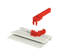 Guide Rrail Coding Block Red Version 150