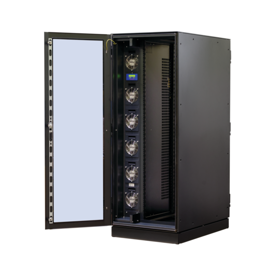 Varistar LHX+, cabinet with single door, integrated airconditioner
