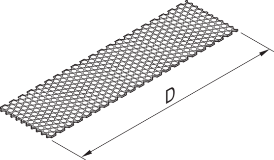 Cover Plate, with perforation
