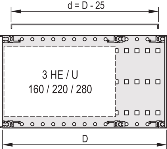 Cover plate, universal (EuropacPRO)