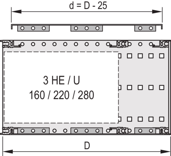 Cover Plate for bolting to side panel (EuropacPRO)