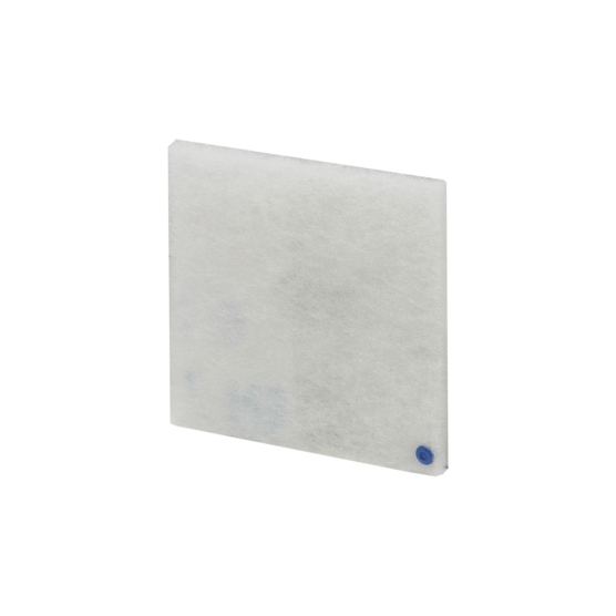Replacement filter for air filtered fan