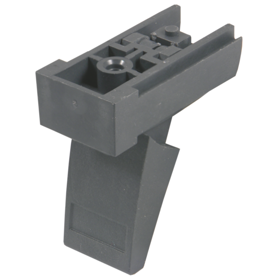 Plastic foot, with tip-up (RatiopacPRO/-air, PropacPRO, CompacPRO, Comptec, Interscale)