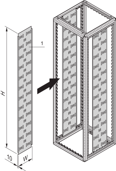 Cable panel (Varistar)